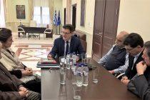 Με την Υπουργό Πολιτισμού Λυδία Κονιόρδου συναντήθηκε ο Πέτροβιτς