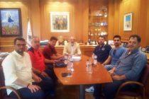 Συνάντηση του Δημάρχου Αλεξανδρούπολης με το νέο Δ.Σ. της Συνδικαλιστικής Ένωσης Αστυνομικών Υπαλλήλων Αλεξανδρούπολης