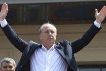 Στην Κομοτηνή σήμερα ο υποψήφιος Τούρκος πρόεδρος Μουχαρέμ Ιντζέ