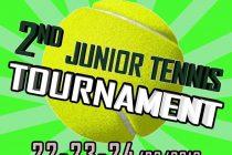 2nd Junior Tennis Tournament