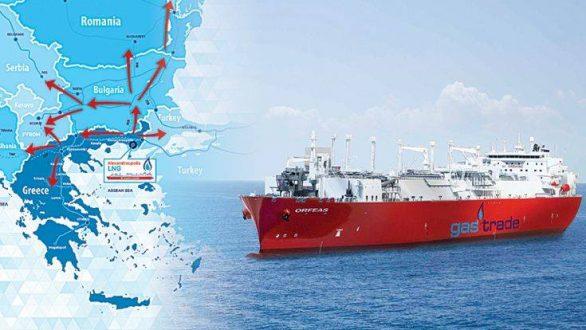 Ξεκίνησε το market test για τον σταθμό LNG Αλεξανδρούπολης