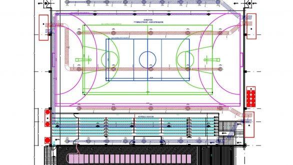 Πρόταση του Δήμου Αλεξανδρούπολης για την ενεργειακή αναβάθμιση του Κλειστού Γυμναστηρίου «Μ. Παρασκευόπουλος»