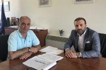 Συμφωνία για σύναψη εταιρικής σχέσης μεταξύ ΔΕΥΑΑ και Εμπορικού Συλλόγου Αλεξανδρούπολης