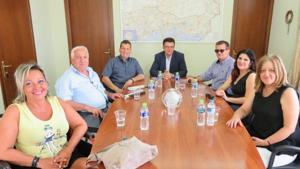 Συνάντηση Πέτροβιτς με τον Πρόεδρο και μέλη του ΔΣ της ΠΟΜΑμεΑ ΑΜΘ