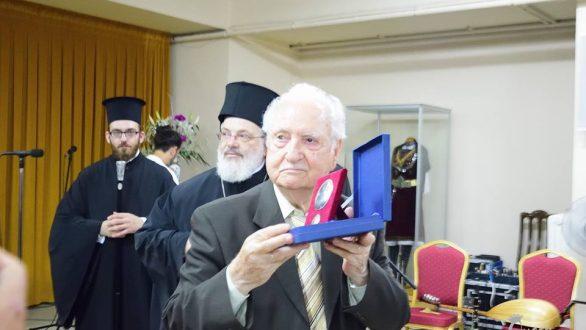 Τίμησε και τιμήθηκε στη γενέτειρά του ο Χρόνης Αηδονίδης