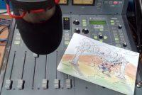 Ο Μπάμπης Καζαντζίδης μιλάει για τα σκίτσα του στο Ράδιο Έβρος