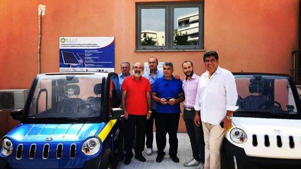 Δύο ηλεκτροκίνητα οχήματα έφτασαν και στον Δήμο Αλεξανδρούπολης