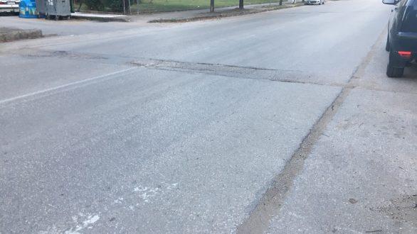 """Επιδιορθώσεις στα """"σαμαράκια"""" των δρόμων της Ορεστιάδας"""