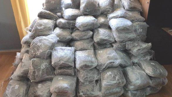 Αλεξανδρούπολη: Τεράστια ποσότητα ναρκωτικών εντόπισαν οι αρχές
