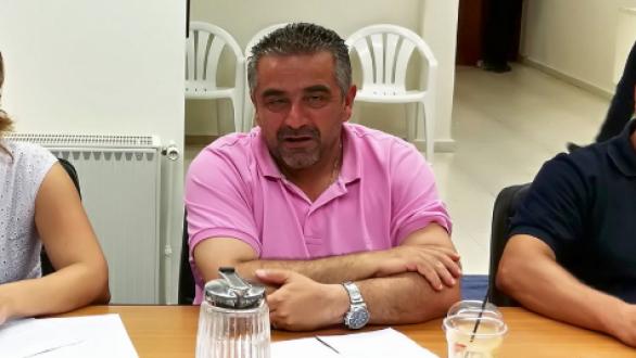 Παραιτήθηκε από δημοτικός σύμβουλος ο Δημήτρης Τσάμογλου