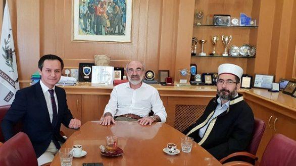 Συνάντηση του Δημάρχου Αλεξανδρούπολης με τον μουφτή Διδυμοτείχου