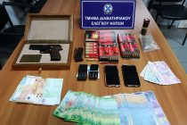 Σύλληψη δύο ατόμων για κατοχή όπλων και ναρκωτικών στο Τελωνείο Κήπων