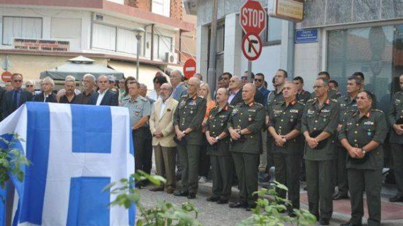 Οι Φέρες τίμησαν τον Ταγματάρχη Εμμανουήλ Μινωτάκη