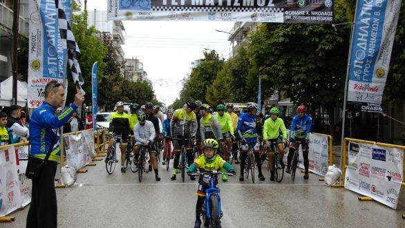 Με βροχή αλλά χωρίς προβλήματα διεξήχθη ο 4ος Ποδηλατικός Γύρος Μνημείων Β. Έβρου