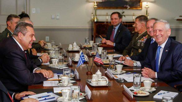 Πρόταση για αμερικανικές βάσεις σε Βόλο, Λάρισα και Αλεξανδρούπολη από Καμμένο