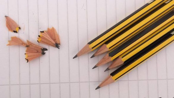 Το μολύβι μπορεί να διώξει το σκόρο!