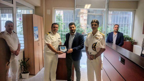Επίσκεψη του Γενικού Γραμματέα Υπουργείου Ναυτιλίας σε Αλεξανδρούπολη & Σαμοθράκη