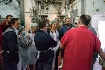 Επίσκεψη Γκουγκουσκίδου στα Δημοτικά Σφαγεία