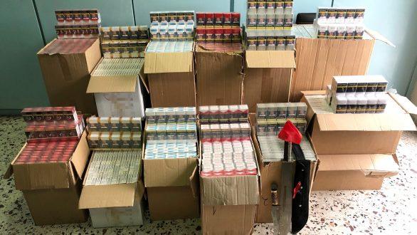 6.337 πακέτα λαθραίων τσιγάρων και πάνω από 1 κιλό λαθραίου καπνού εντοπίστηκαν σε Αλεξανδρούπολη και Καβάλα