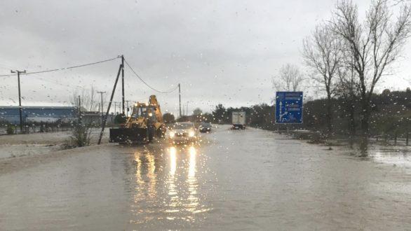 Πλημμύρισαν σπίτια από την χθεσινή νεροποντή στην περιοχή της Ορεστιάδας