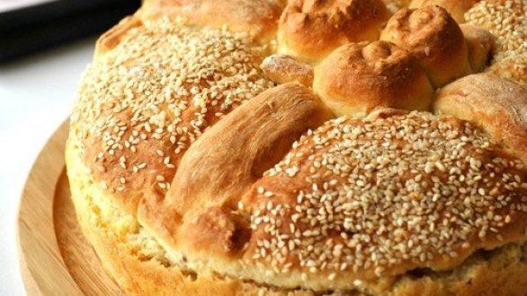Εύκολη συνταγή για Χριστόψωμο