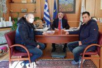 Συνάντηση του Δημάρχου Αλεξανδρούπολης με το Δ.Σ. της Ένωσης Στρατιωτικών Περιφερειακής Ενότητας Έβρου
