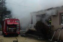 Φωτιά σε κατοικία στον Πέπλο