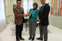 Συνάντηση Πέτροβιτς με την Πολιτική Σύμβουλο και Επιτετραμμένη της Πρεσβείας του Καναδά