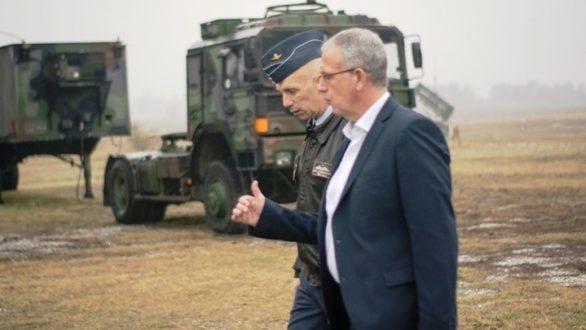 Περιοδεία του αν. υπουργού Εθνικής Άμυνας σε μονάδες και φυλάκια στον Έβρο