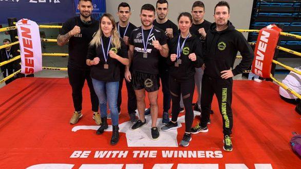 Με πέντε μετάλλια επέστρεψε από το Πανελλήνιο Πρωτάθλημα Kick Boxing η Stergatos Team