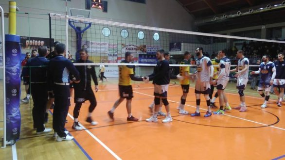 Volley League: Νίκη για τον Εθνικό κόντρα στην Α.Ε.Κομοτηνής στην κόντρα της Θράκης