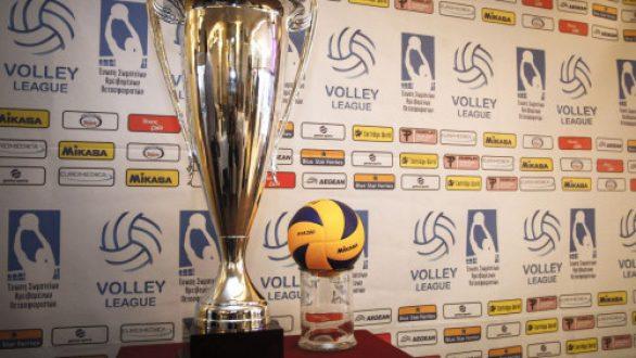 Volley League: Αποτελέσματα και Βαθμολογία (12η αγωνιστική)