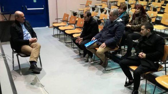 Τα πανεπιστημιακά τμήματα της Ορεστιάδας επισκέφθηκε ο Χρήστος Καζαλτζής