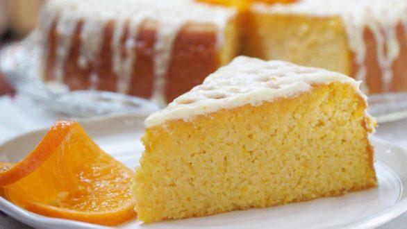 Κέικ με μανταρίνι