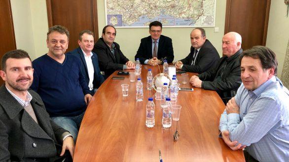 Σύσκεψη του Αντιπεριφερειάρχη Έβρου με τον Πρόεδρο της ΓΣΕΒΕΕ