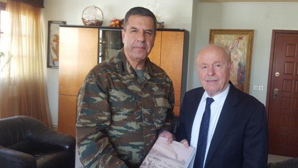 Επίσκεψη Διοικητή Δ' Σώματος Στρατού στον Δήμαρχο Διδυμοτείχου