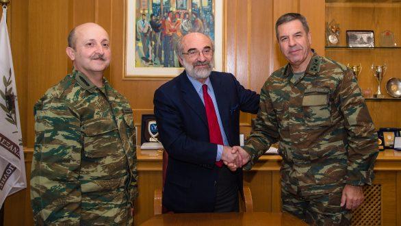 Συνάντηση του Δημάρχου Αλεξανδρούπολης με τον νέο Διοικητή του Δ΄ Σώματος Στρατού