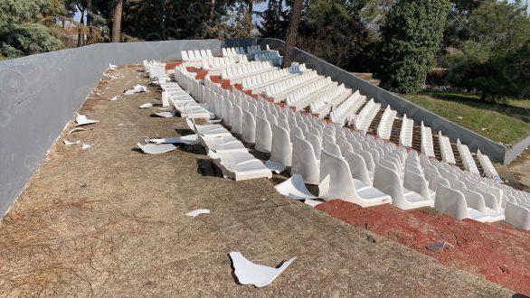 Άγνωστοι ξέσπασαν στο αμφιθέατρο της Ορεστιάδας