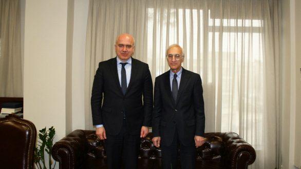 Συνάντηση του Περιφερειάρχη ΑΜΘ με τον Γενικό Πρόξενο της Ρωσίας στη Θεσσαλονίκη