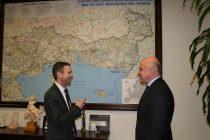 Συνάντηση του Περιφερειάρχη ΑΜΘ με το νέο Γενικό Πρόξενο των ΗΠΑ στη Θεσσαλονίκη