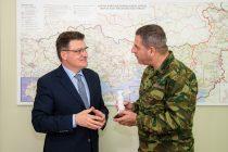 Συνάντηση του Αντιπεριφερειάρχη Έβρου με τον Διοικητή Δ' Σώματος Στρατού