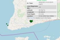 Σεισμός πριν λίγο στην Τουρκία – Αισθητός και στον Έβρο