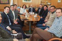 Με το νέο Δ.Σ. του Εμπορικού Συλλόγου Αλεξανδρούπολης συναντήθηκε ο Λαμπάκης