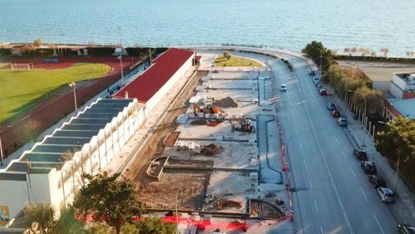 Παραδίδεται τμήμα του έργου «Επέκταση ποδηλατόδρομου και διαμόρφωση υπαίθριου χώρου στάθμευσης»