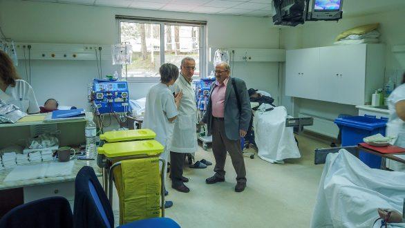 Στο Νοσοκομείο Διδυμοτείχου βρέθηκε χθες ο Βουλευτής Έβρου του ΣΥΡΙΖΑ κ. Γ. Καΐσας