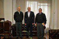 Επίσκεψη στον Περιφερειάρχη ΑΜΘ του απερχόμενου και του νέου Διοικητή της 29ης Ταξιαρχίας Πεζικού
