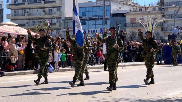 Η παρέλαση της 25ης Μαρτίου στην Ορεστιάδα