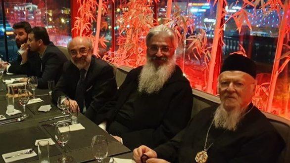 Συνάντηση Λαμπάκη και Μητροπολιτών Αλεξανδρούπολης και Διδυμοτείχου με τον Πατριάρχη Βαρθολομαίο