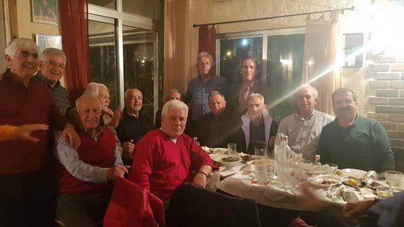 Παλαίμαχοι ποδοσφαιριστές από όλο τον νομό Έβρου συναντήθηκαν στο Αμόριο