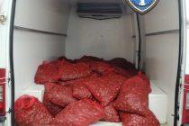 1.603 κιλά όστρακα εντοπίστηκαν και κατασχέθηκαν χθες στην Αλεξανδρούπολη